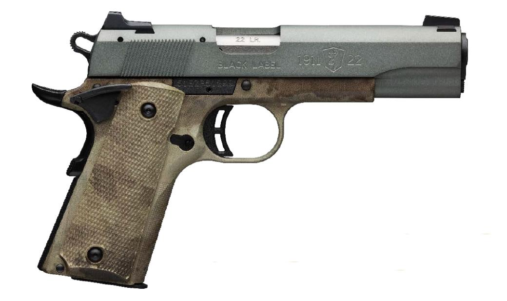 Browning 1911-22 Black Label Speed Gray 22 LR