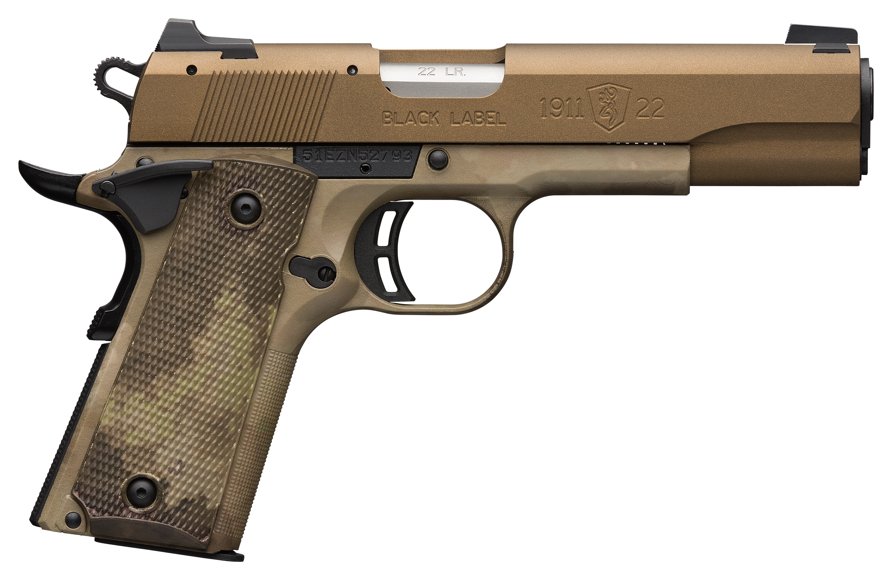 Browning 1911-22 Black Label Pro Speed 22 LR