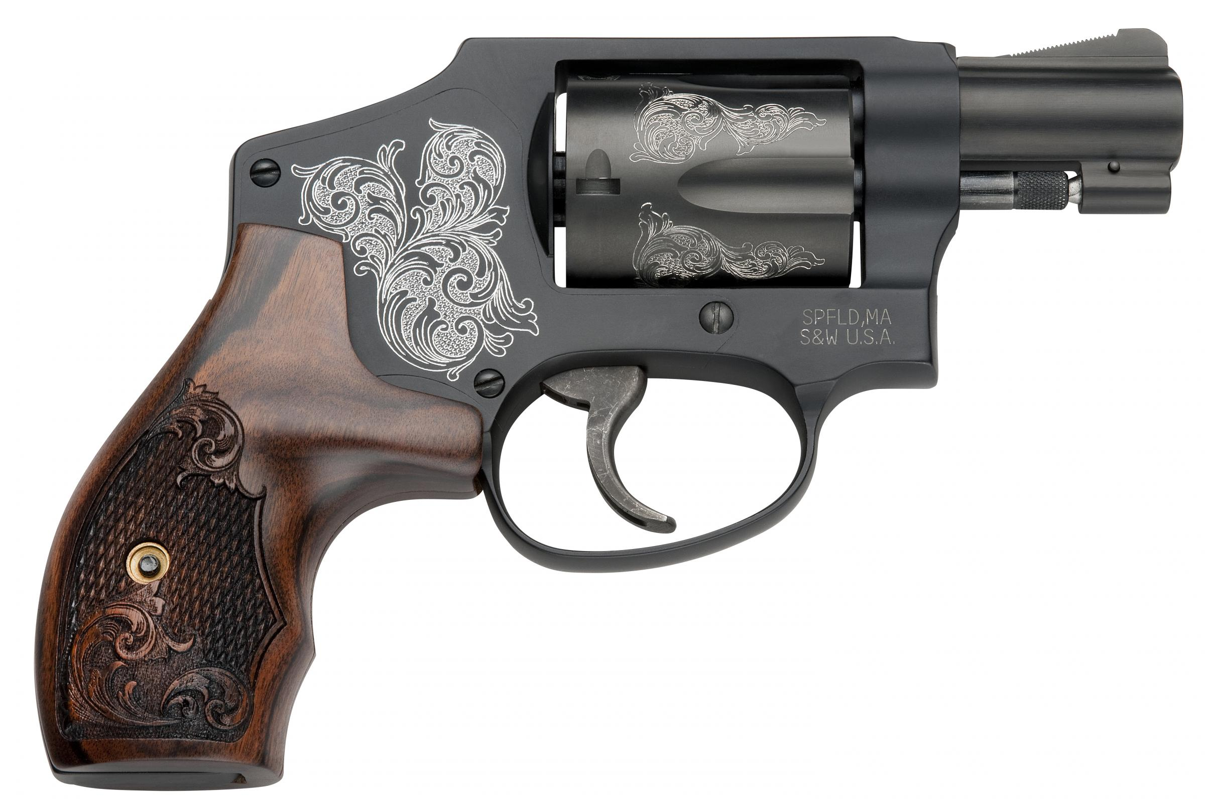 Smith and Wesson 442 Engraved 38 Special
