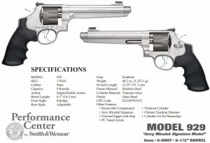 Smith and Wesson 929 Performance Center 9mm