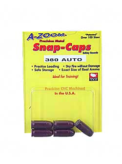 AZOOM SNAP CAPS 380ACP 5/PK