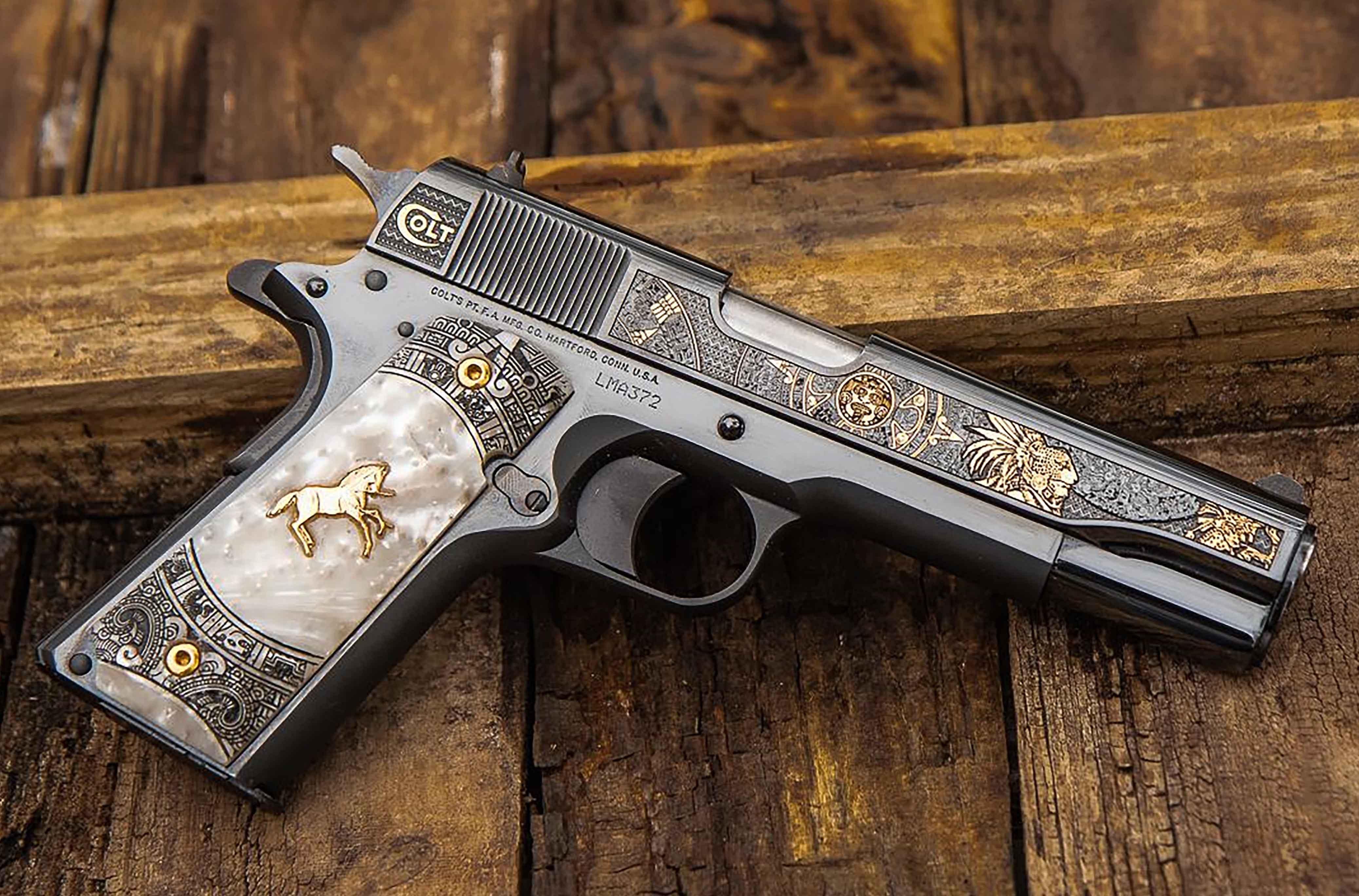 Colt Aztec Jaguar Knight 38 Super