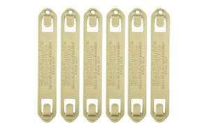"BH SPEEDCLIP 6 PACK/ #5 5"" CT"