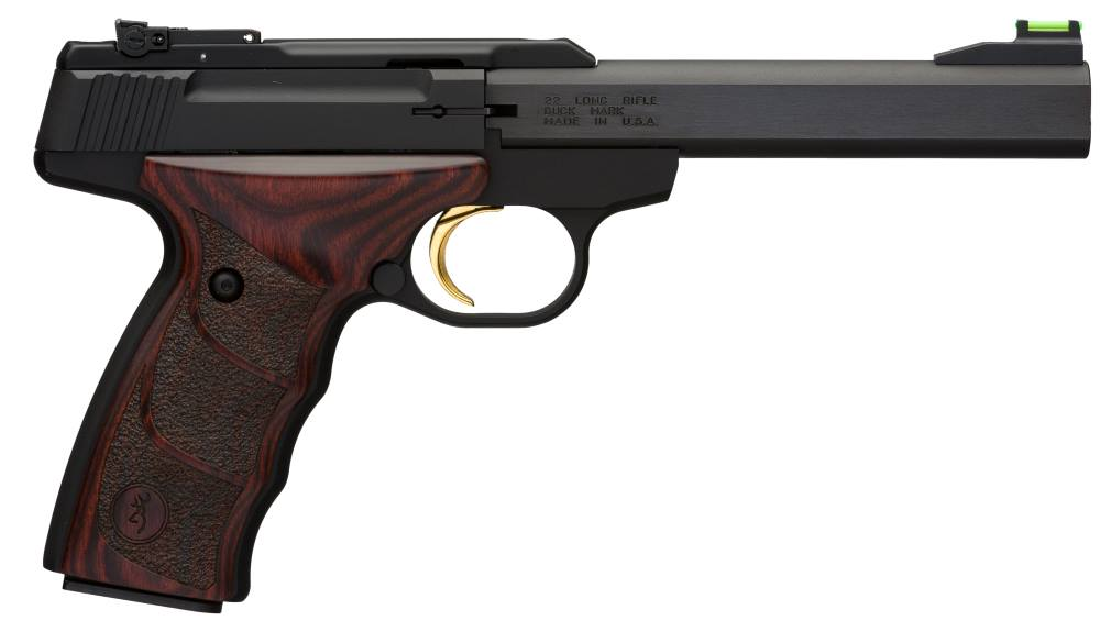 Browning Buck Mark Plus Rosewood UDX 22 LR