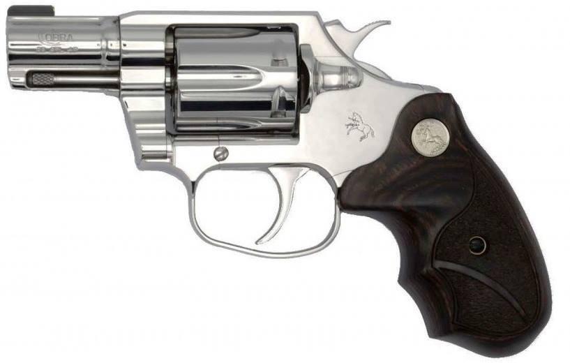 Colt Bright Cobra Revolver 38 Special
