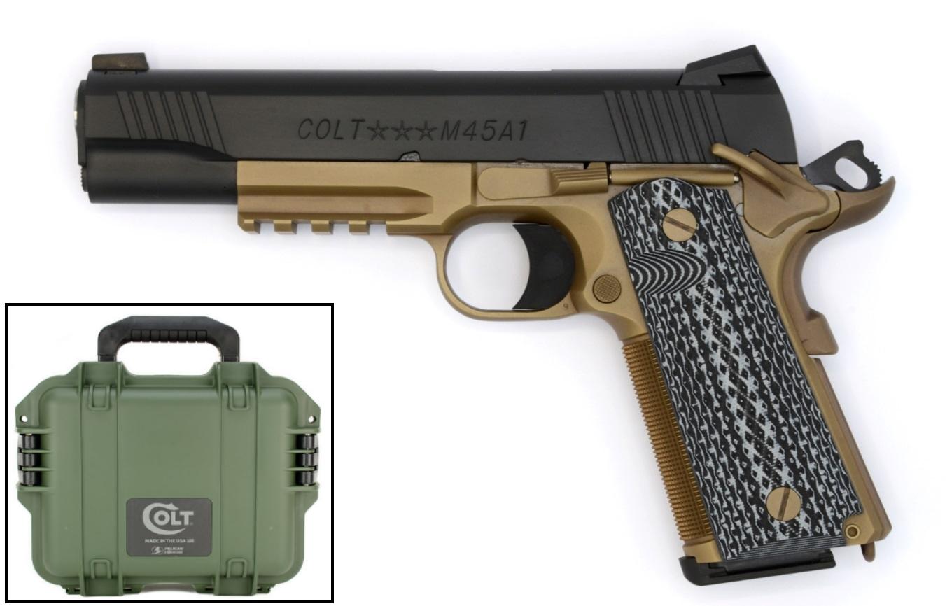 Colt Custom Shop CQB Pistol 45 ACP