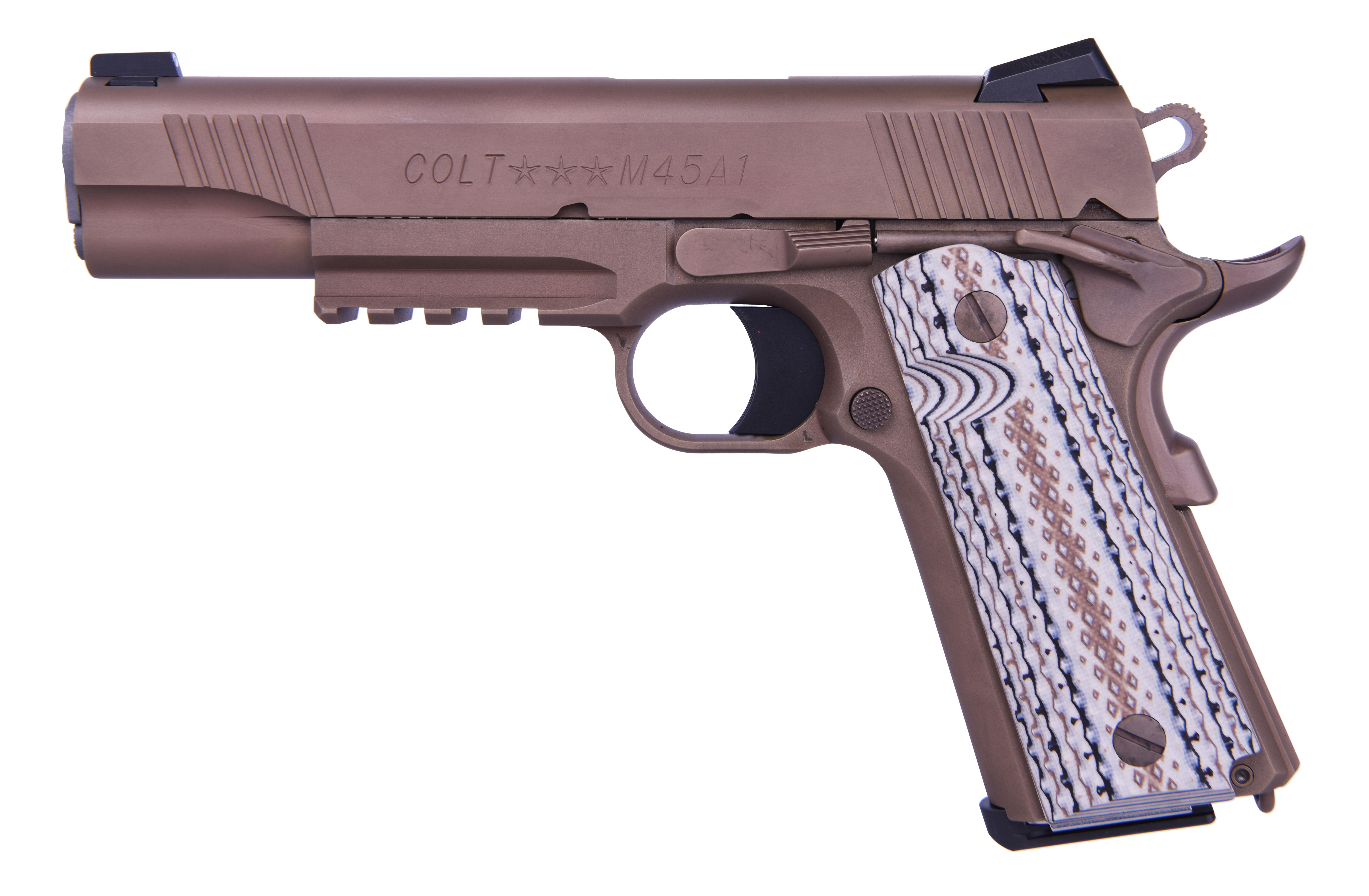 Colt CMC Marine Pistol 45 ACP