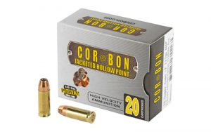 CORBON 38SUPER+P 115GR JHP 20/500