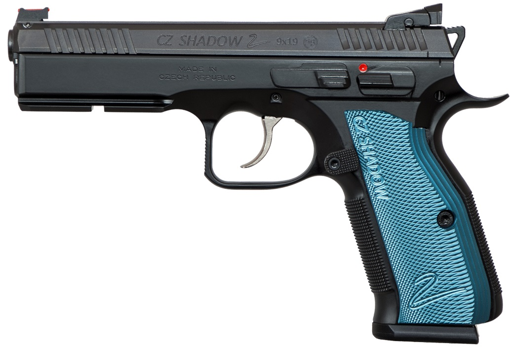 CZ-USA CZ Shadow 2 Black & Blue 9mm
