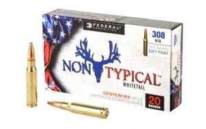 FED NON TYPICAL 308 WIN 180GR SP 20/