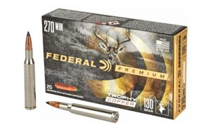 FED PRM 270WIN 130GR TRPHY COPPER 20