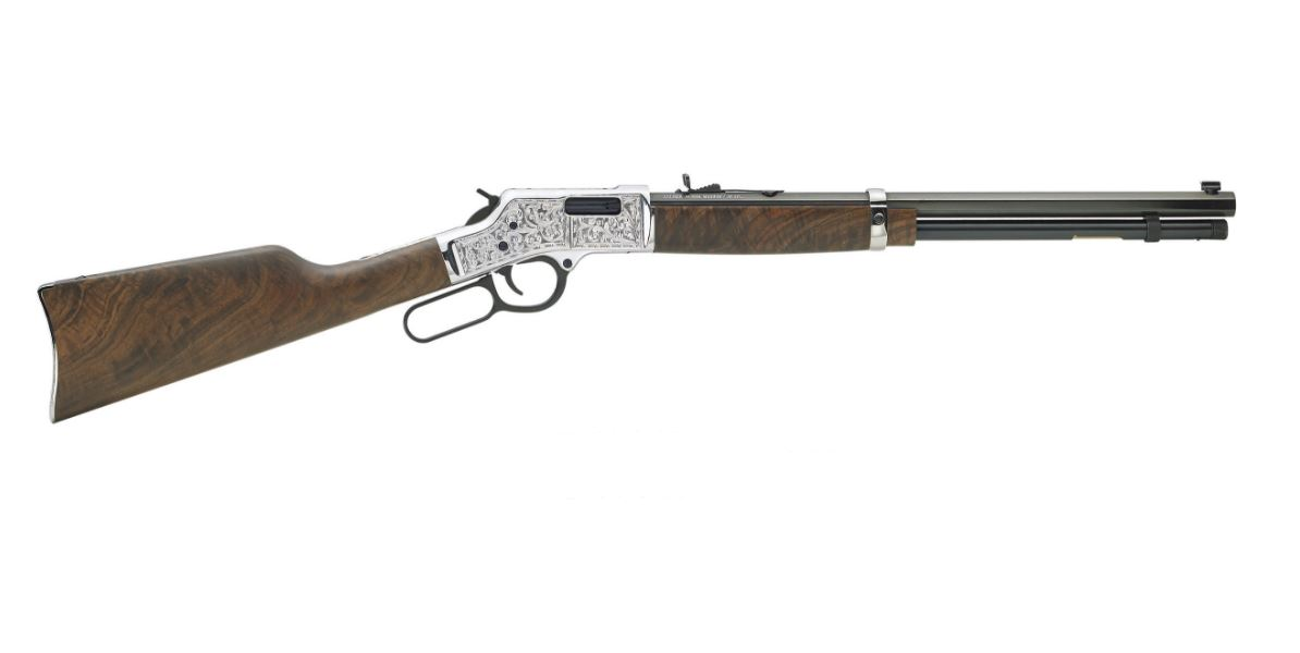 Henry Repeating Arms Big Boy Silver Deluxe Engraved 357 Magnum   38 Special