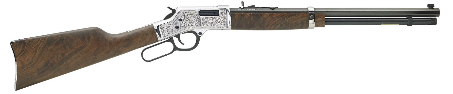 Henry Repeating Arms Big Boy Silver Deluxe Engraved 44 Magnum   44 Special