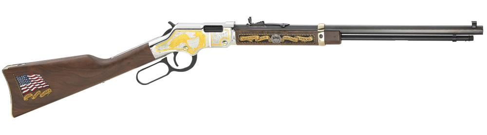 Henry Repeating Arms Golden Boy Military Svc 2nd Ed 22 LR