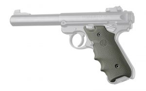 HOGUE RUGER MKIV RB GRIP W/FG OD GRN