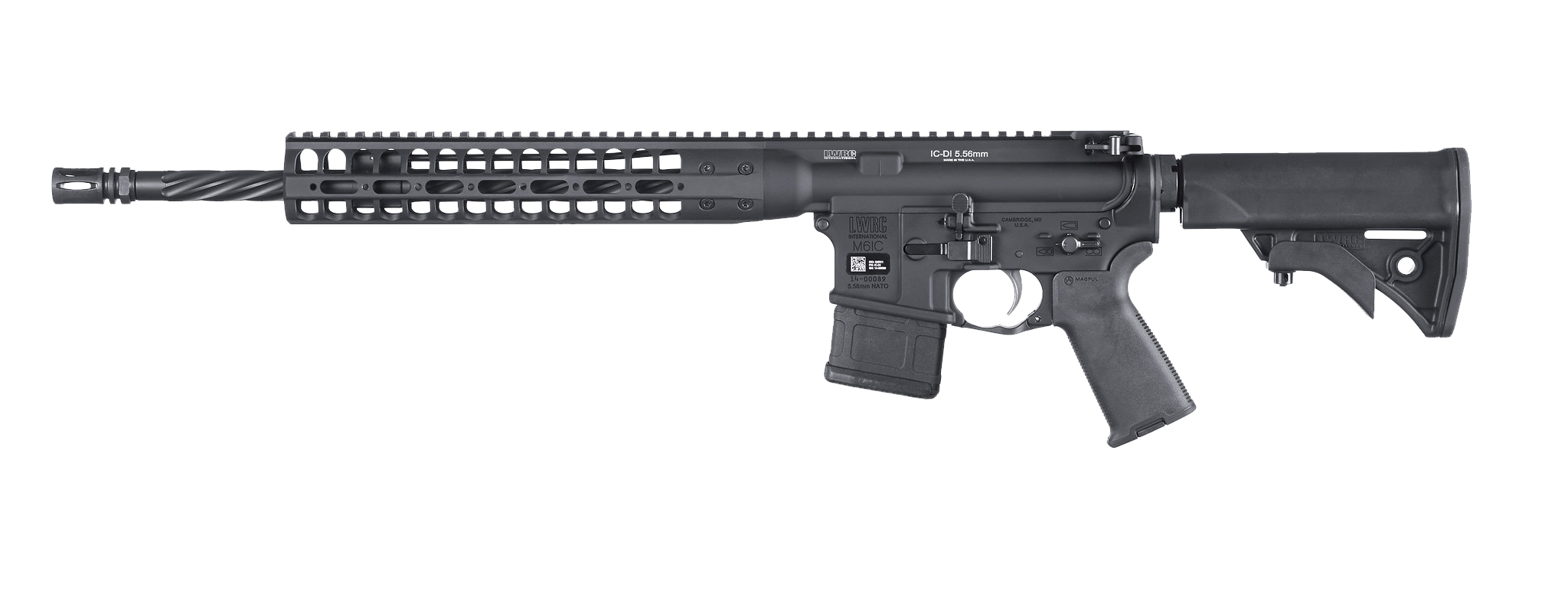 LWRC IC-DI California Compliant 223 Rem | 5.56 NATO