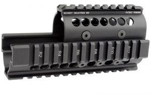MIDWEST AK47/74 QUAD RAIL BLK