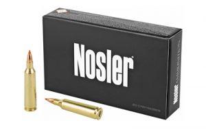 NOSLER 22-250 55GR BT 20/200