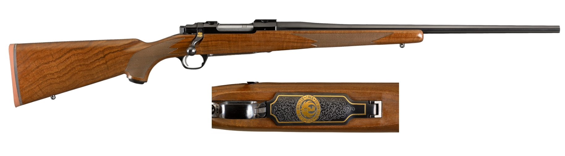 Ruger M77 Hawkeye 50th Anniversary 243 Win