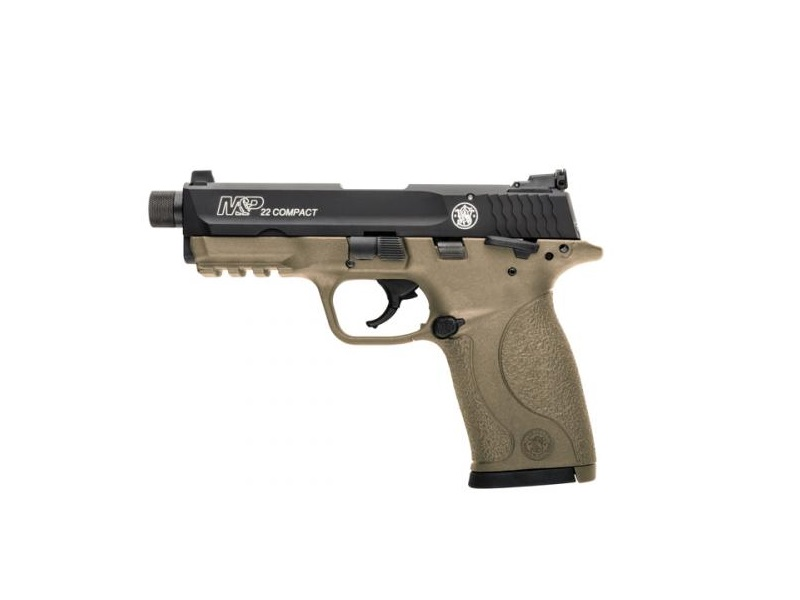 Smith and Wesson M&P22 Compact Suppressor Ready 22 LR