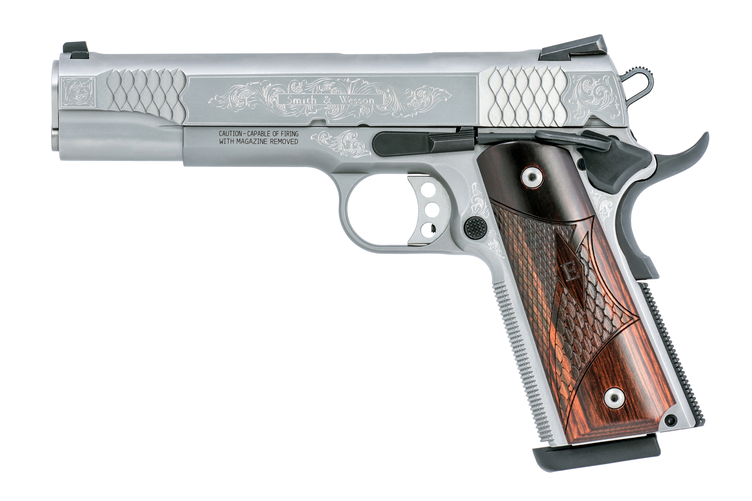 Smith and Wesson SW1911 Engraved 45 ACP