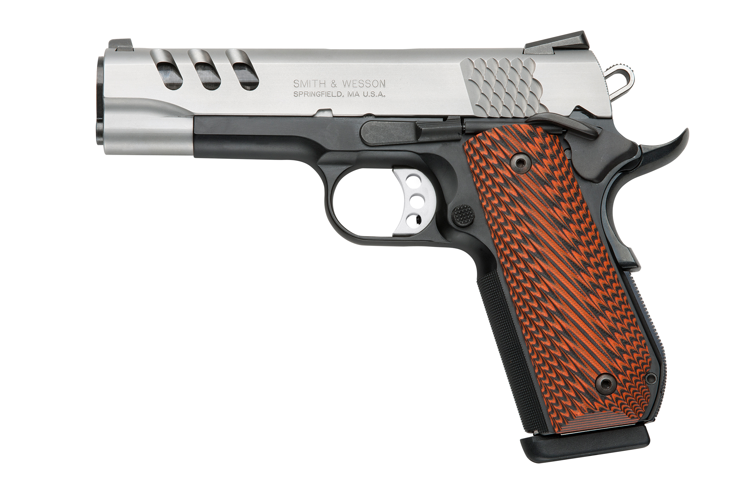 Smith and Wesson SW1911PCRB Round Butt 45 ACP