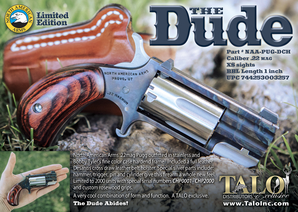 "North American Arms Pug ""The Dude"" 22 Magnum"