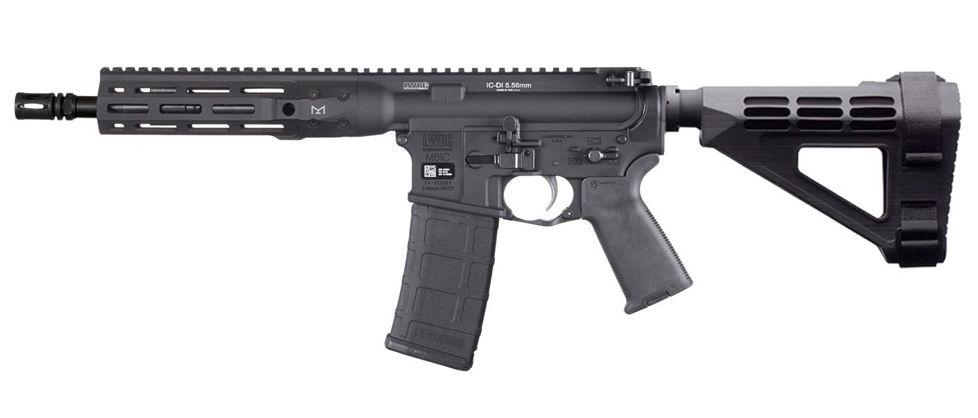 LWRC IC-DI Pistol 223 Rem | 5.56 NATO