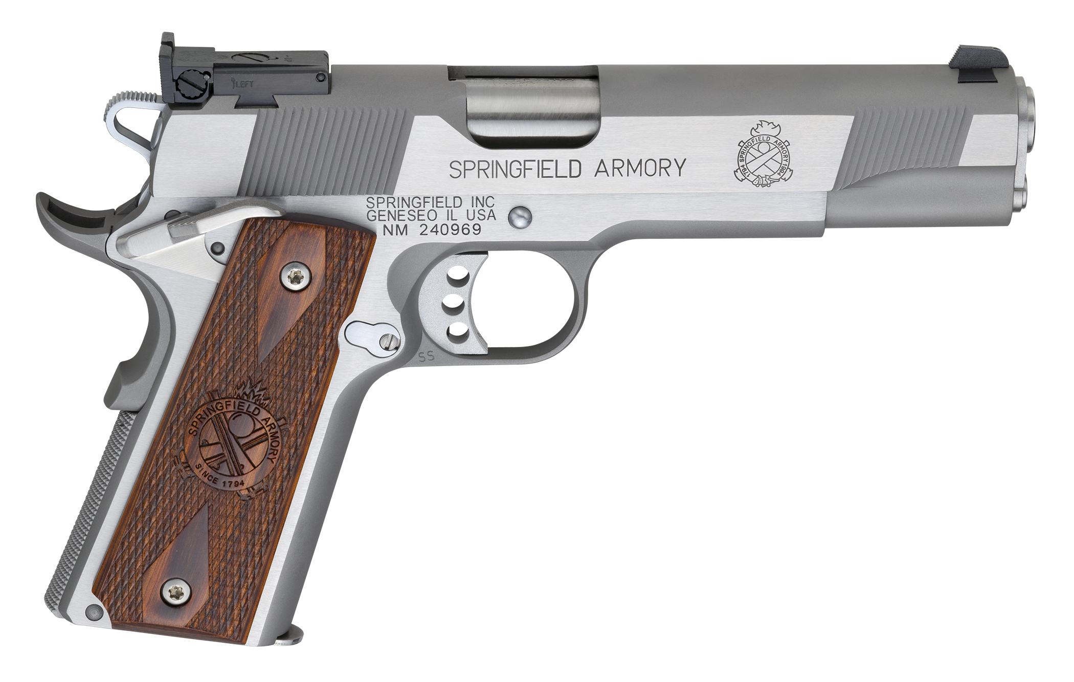 Springfield Armory Target Stainless 45 ACP