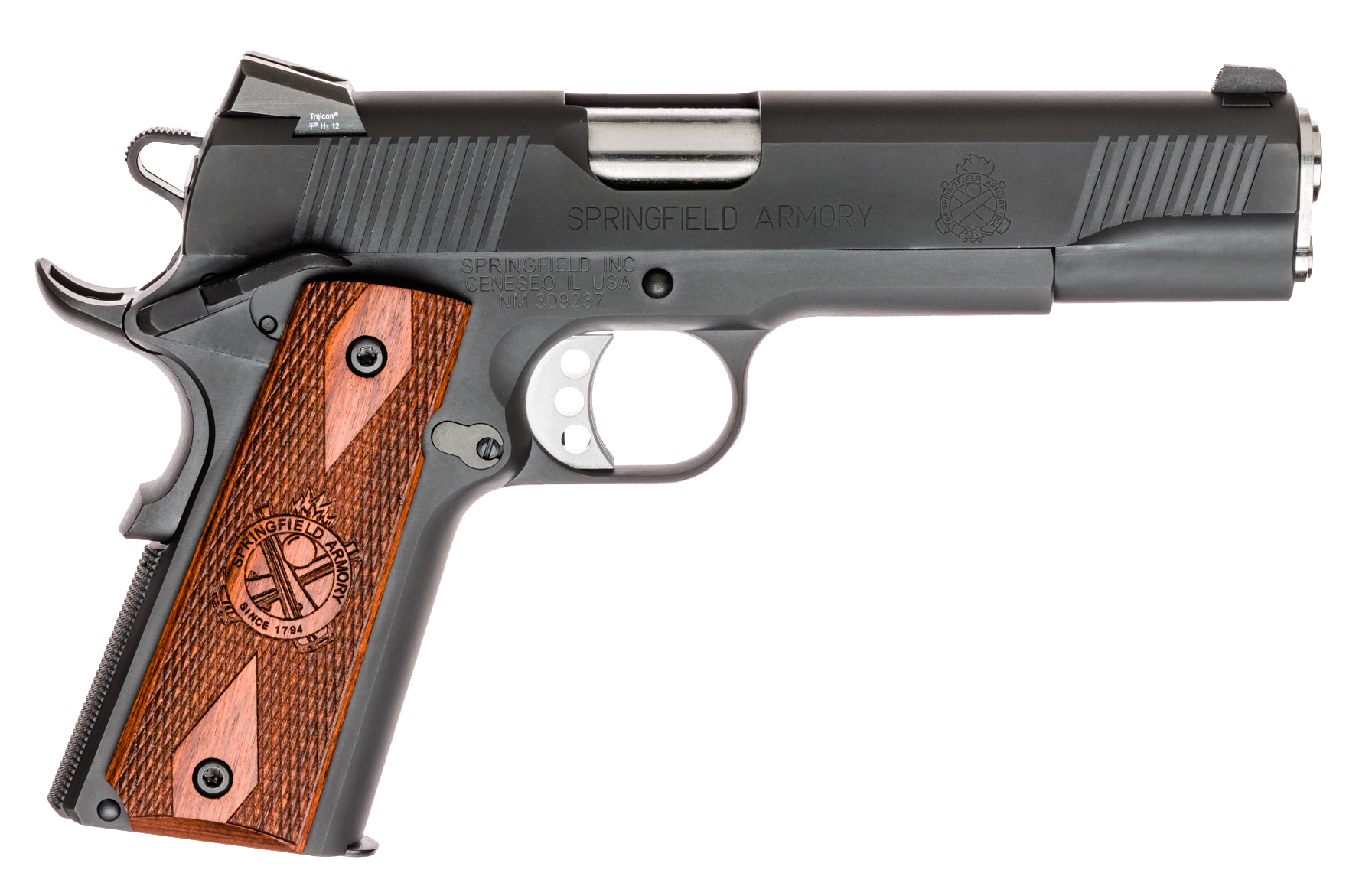 Springfield Armory Loaded Parkerized 45 ACP