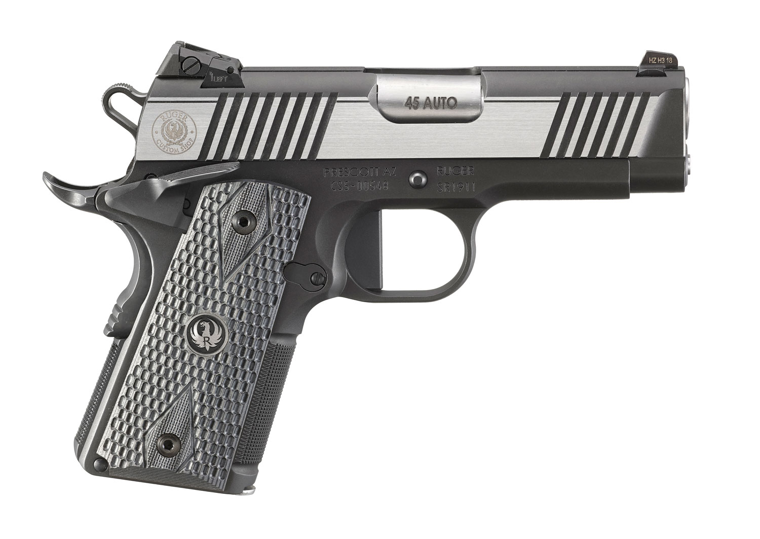 Ruger SR1911 Cust Shop Officer-Style 45 ACP