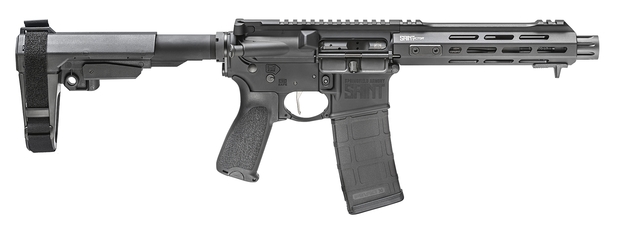 Springfield Armory Saint Victor Pistol 223 Rem   5.56 NATO