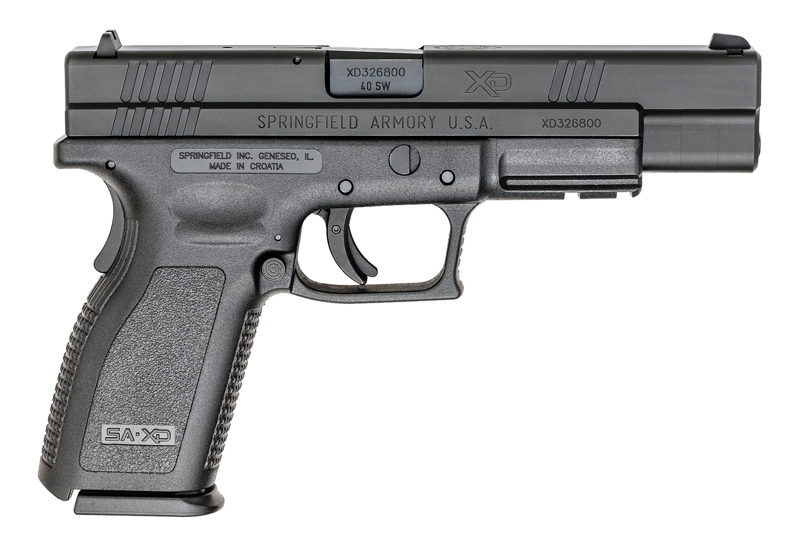 Springfield Armory XD Tactical Essentials Package 40 S&W