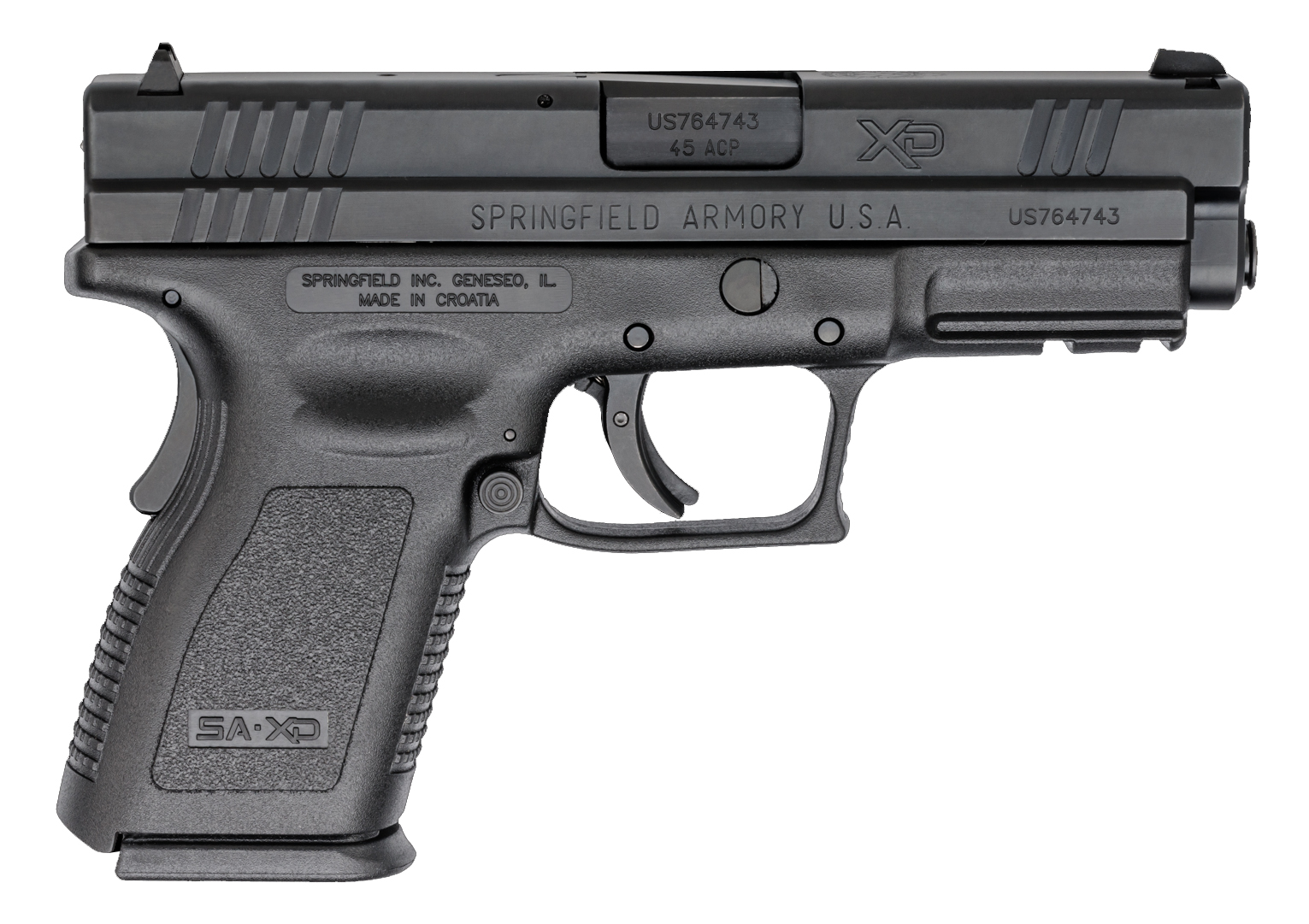 Springfield Armory XD Compact Essentials Pack 45 ACP