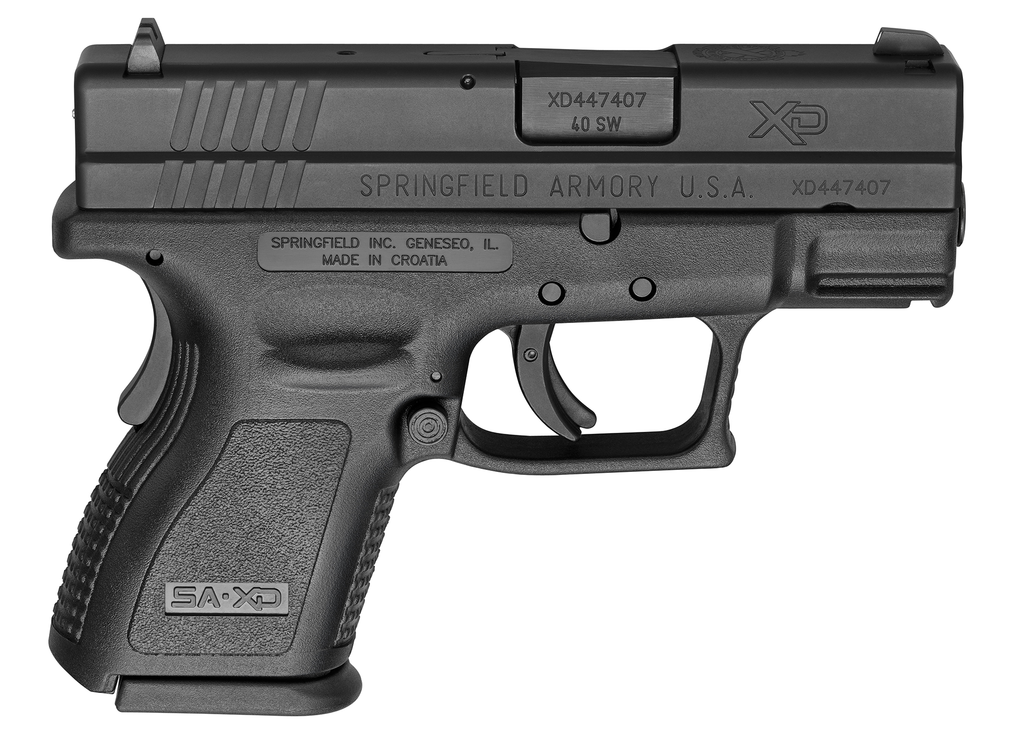 Springfield Armory XD Sub-Compact Essentials Pack 40 S&W