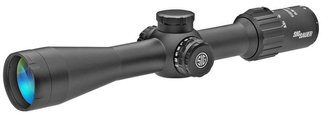 sig sauer rifle scope